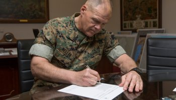 Marine Commandant sets the example on social media… but gender issues persist