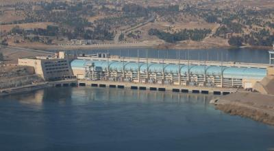 Syria government urges U.N. chief to avert 'looming dam catastrophe'
