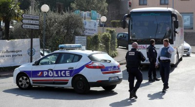 School shooting, letter bomb at IMF put France on alert