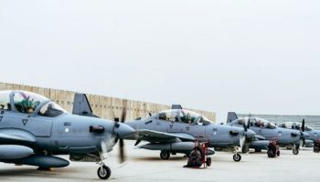 US Forces: We Will Defeat Islamic State in Afghanistan 2017: Marines, A-29s arrive at Kabul in time for fighting season