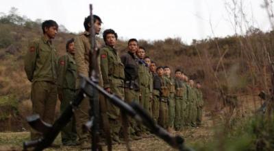 Violence in Myanmar as rebel groups attack authorities in border region