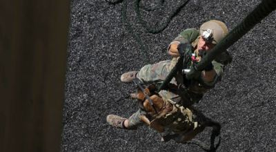 MARSOC working dogs: Can your pup do this?