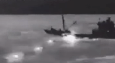 Watch: Firefight with a North Korean spy ship