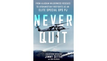 Interview with former Pararescueman Jimmy Settle, author of 'Never Quit'