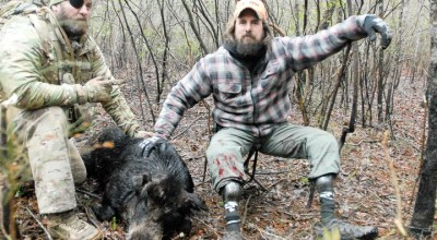 Combat Vets Go Hog Hunting with Special Operations Wounded Warriors