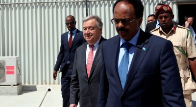 New U.N. chief confronts the 'nightmare' of Somalia's food crisis