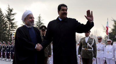 In Venezuela's toxic brew, failed narco-state meets Iran-backed terrorism