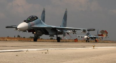 Russian and Syrian Aircraft Bomb US Supported Rebels in Syria
