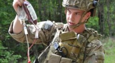 Ranger Whole Blood Program wins Army innovation award and could save more lives on the battlefield