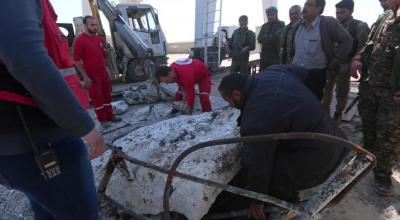 Engineers repair Syria's Tabqa dam spillways after shelling