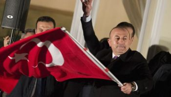 Tensions high in Europe leading up to a pivotal election in Turkey