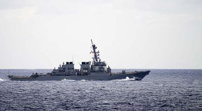 American Navy ship seizes nearly 600 pounds of heroin in Arabian Sea