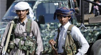 Child soldiers are being recruited for the fight in Yemen, by all sides