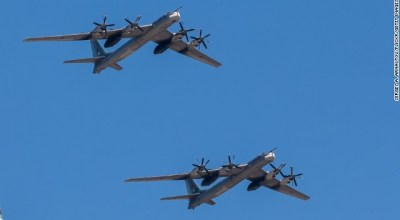 Russian spy planes, bombers spotted off the coast of Alaska 4 times in 4 days