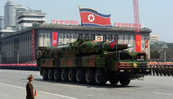 North Korea debuts mobile ICBM launch platforms among other nukes in annual military parade