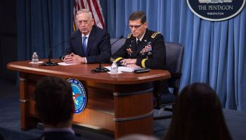 Mattis and CENTCOM commander weigh in on Syria strike