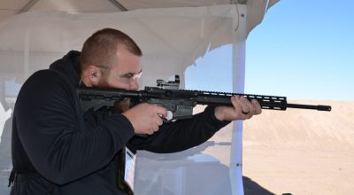 American Tactical .410 AR Shotgun: Milspec lower with a shotgun upper