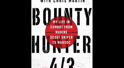 Book Cover Reveal for 'Bounty Hunter 4/3' by Jason Delgado former Marine Scout Sniper and MARSOC Sniper Instructor