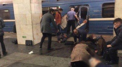 St Petersburg metro explosion, 11 killed and dozens injured