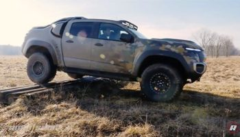 Off-Roading in the US Army's New Chevy Colorado ZH2