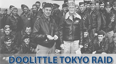 Air Force Celebrates the 75th Anniversary of the Doolittle Raid on Japan