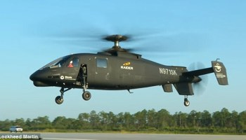 "Lockheed Martin Unveils New Special Operations ""Raider"" Helicopter"