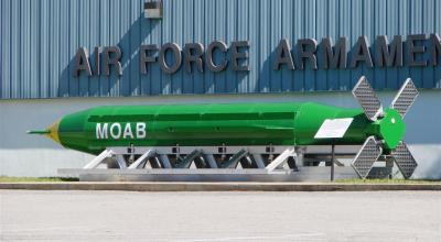"""C-130 Drops """"Mother of all Bombs"""" on ISIS Tunnel Systems in Afghanistan"""