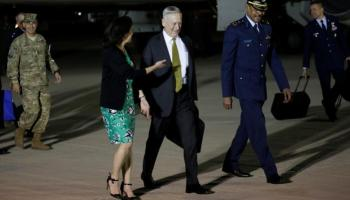 U.S. defense secretary says Syria dispersed warplanes, retains chemical weapons