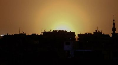 """""""Israeli Missile Strike"""" Hits Damascus Airport in Syria"""
