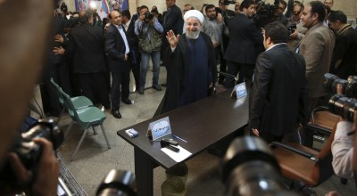 The nuclear deal takes center stage as Iran's election campaign gets underway