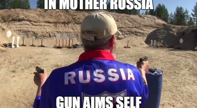 Russian intuitive shooting: Seeing is believing