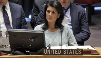 Russia, Bolivia lament US strike in Syria to UN; US and UK strike back with barbs of their own