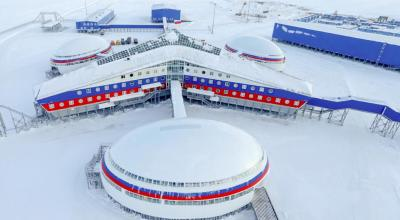Take a tour of Russia's new giant arctic military base