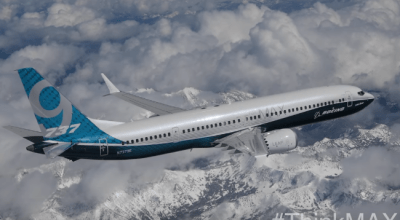 Boeing 737 Max 9 Completes its First Flight