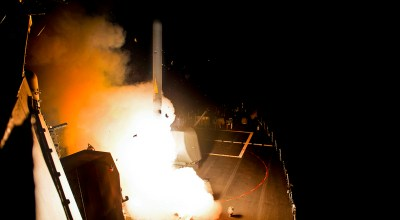 Trump counters sarin gas with Tomahawk cruise missiles