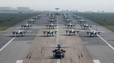 Watch: Massive show of US Air Power – 'Elephant Walk' Kadena Air Base