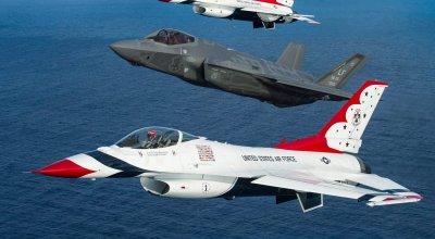 Will the F-35 Lightning Be the Next Thunderbird?