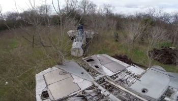 Watch: YouTuber discovers abandoned fighter jets in the woods - including F-14s that shouldn't exist