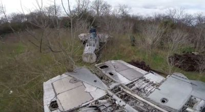 Watch: YouTuber discovers abandoned fighter jets in the woods – including F-14s that shouldn't exist