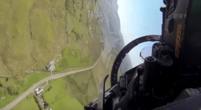 Flying the 'Mach Loop' at low level! Must watch if you like it low & fast!