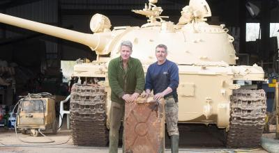 UK tank collector discovers millions worth of Kuwaiti gold in Iraqi tank he bought on eBay