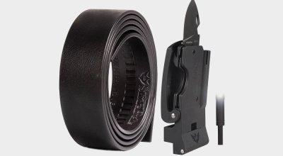 Slidebelts' Survival Belt for everyday carry: Useful never wears off