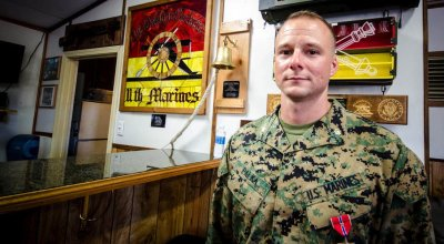 This battle between US Marines and ISIS has largely been kept secret — until now