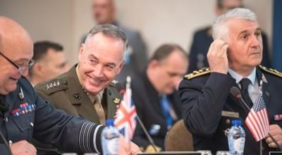 General Dunford meets with NATO Chiefs to discuss Iraq, Afghanistan, and burden sharing