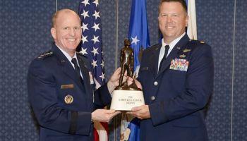 Major John Hourigan Awarded the Koren Kolligian Trophy for saving his C-130 Crew