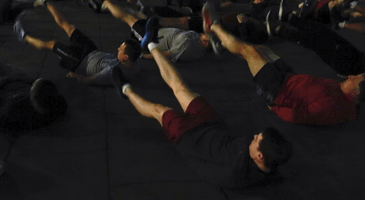Here's what I learned from working out with former Navy SEAL commanders before dawn