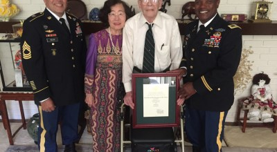 Studies and Observations Group's 'Q' named honorary member of Special Forces Regiment