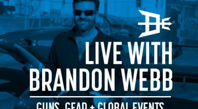 Watch: Live with Brandon Webb- Guns, gear, and global events Apr 30, 2017