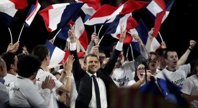 Macron's campaign says it has been hit by 'massive' hack of emails and documents
