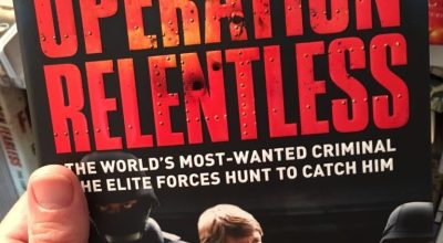 'Operation Relentless' coming soon from Damien Lewis